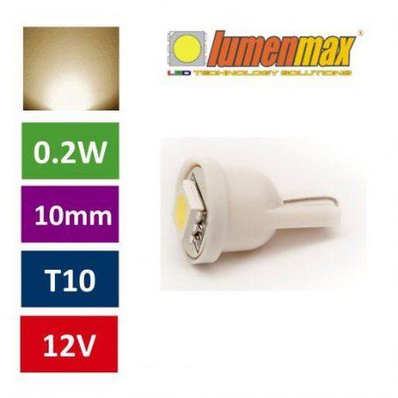 Avto LED žarnica (sijalka) toplo bela 2 kosa
