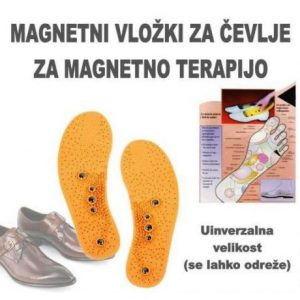 Magnetni vložki za čevlje