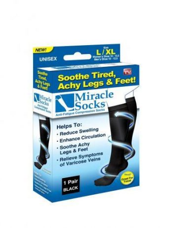 Miracle socks kompresijske nogavice za utrujene noge