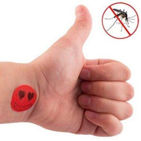 Obliži proti komarjem z vonjem citronele (18 kos)