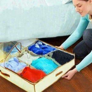 Organizator oblek za pod posteljo