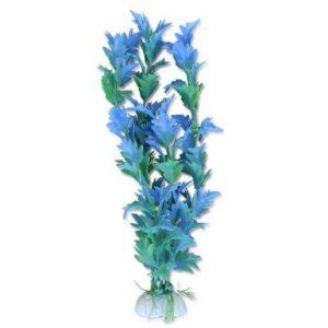 Akvarijska rastlina umetna 10cm ali 20 cm modra