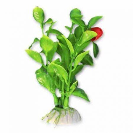 Akvarijska rastlina umetna 10cm svetlo zelena