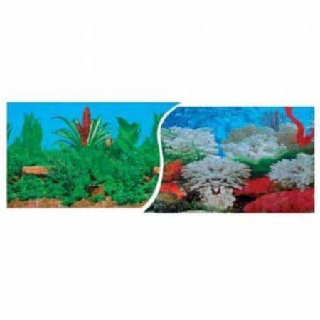 Akvarijsko ozadje 40x80cm