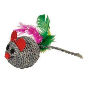Igrača za mačke miš 6cm