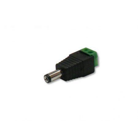 Konektor za priklop LED traku na adapter moški