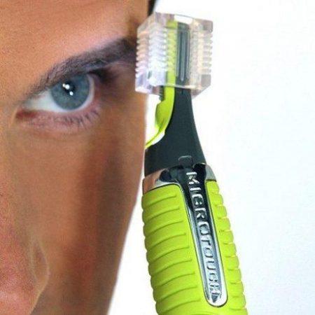 Moški brivnik z LED lučko Max micro precision shaver