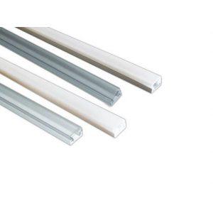 PVC LED profil 1M beli