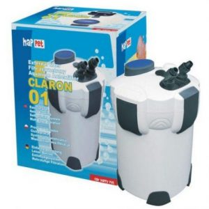 Zunanji akvarijski filter s filtrirnim materialom za 100-400L akvarij