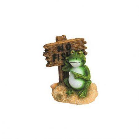 Akvarijska dekoracija žaba