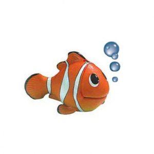 Akvarijska dekoracija riba z mehurčki