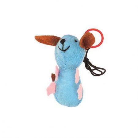 Plišasta igrača za mačke miš 9,5 cm