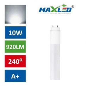 LED žarnica - sijalka cevna T8 PVC 60cm 10W (18W) nevtralno bela max-led