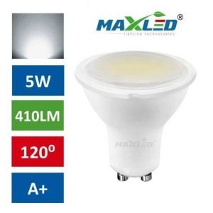 LED žarnica - sijalka GU10 5W (40W) nevtralno bela 4500K