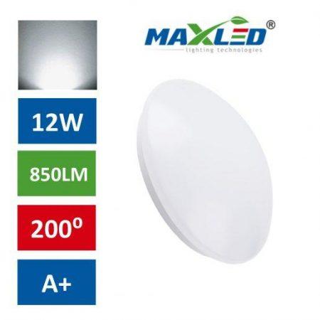 LED plafoniera 12W nevtralno bela 4000K max-led