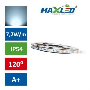 LED trak 5050 7,2W/m 150 LED IP54 hladno beli 5m max-led