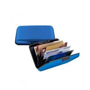 Alumijasta denarnica za zaščito kartic