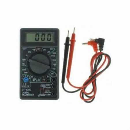 Digitalni multimeter z LCD zaslonom