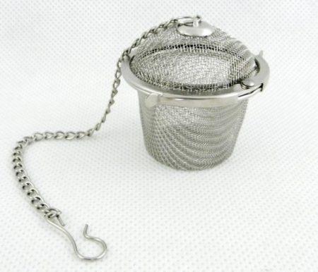 Filter za čaj iz nerjavečega jekla
