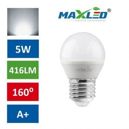 LED žarnica - sijalka E27 5W (40W) nevtralno bela 4500K