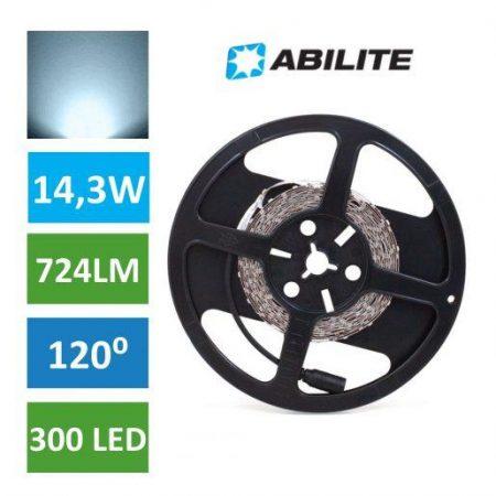 LED trak 2835 300 LED 14,3W 5M hladno beli 6500K IP20