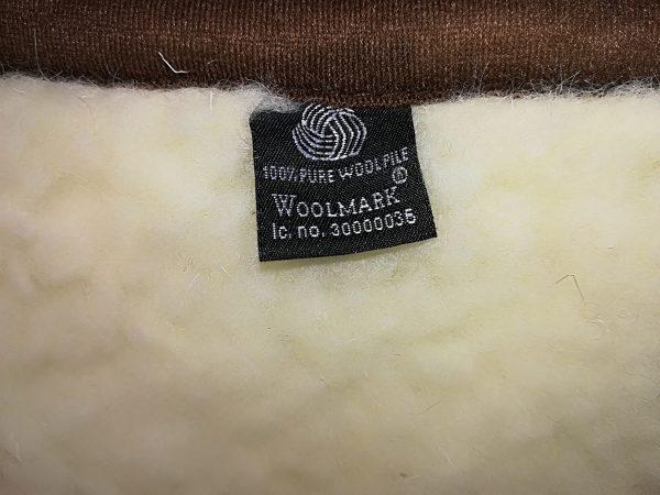 Ledvični pas - pas za hrbet iz ovčje volne dvostranski več barv