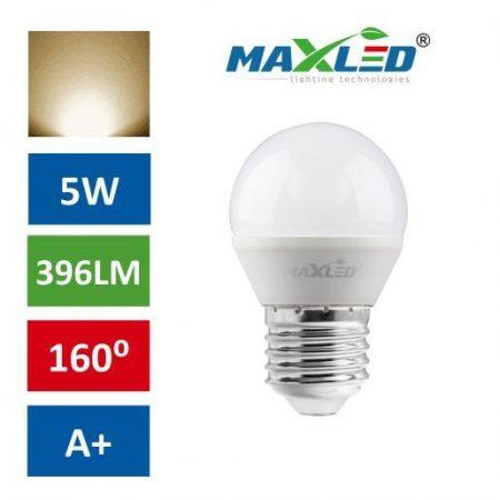 LED žarnica - sijalka E27 5W (40W) 396lm toplo bela 3000K