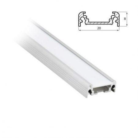 LED profil ALU T3 1m
