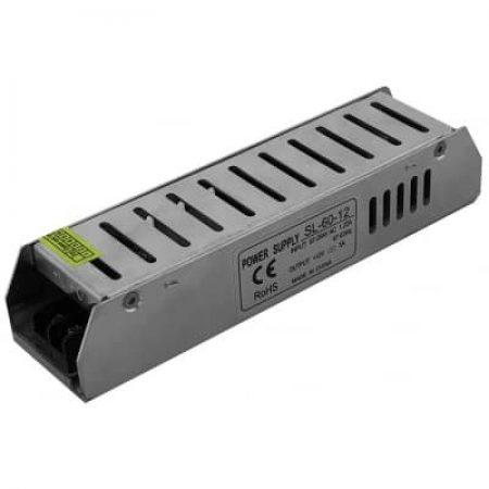 Napajalnik za LED trakove 60W 12V 5A
