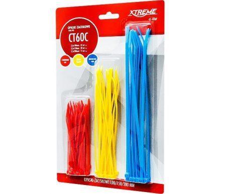 Set vezic za kable več barv