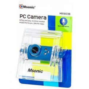 Spletna kamera z mikrofonom modra
