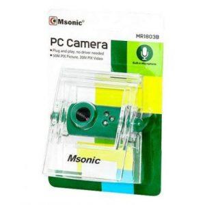 Spletna kamera z mikrofonom zelena