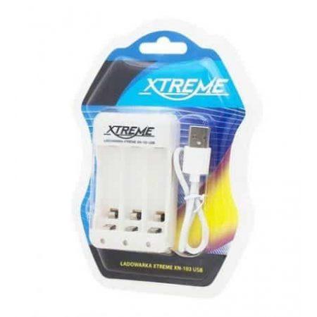 USB polnilec za AA/AAA baterije