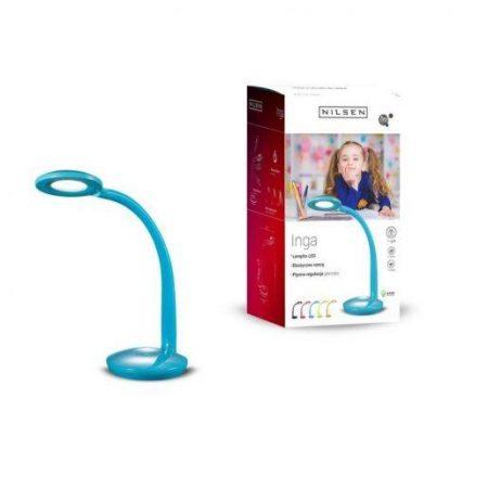 LED namizna svetilka modra z zaščito za oči