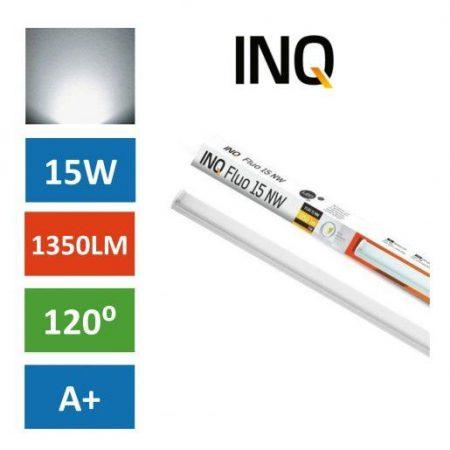 Podelementna LED cevna svetilka 15W IP44 nevtralno bela 4000K