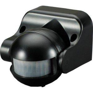 Senzor gibanja 180° nastavljiv kot zaznavanja črna barva