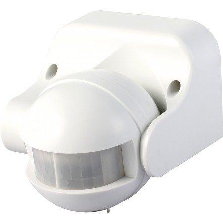 Senzor gibanja 180° nastavljiv kot zaznavanja bela barva
