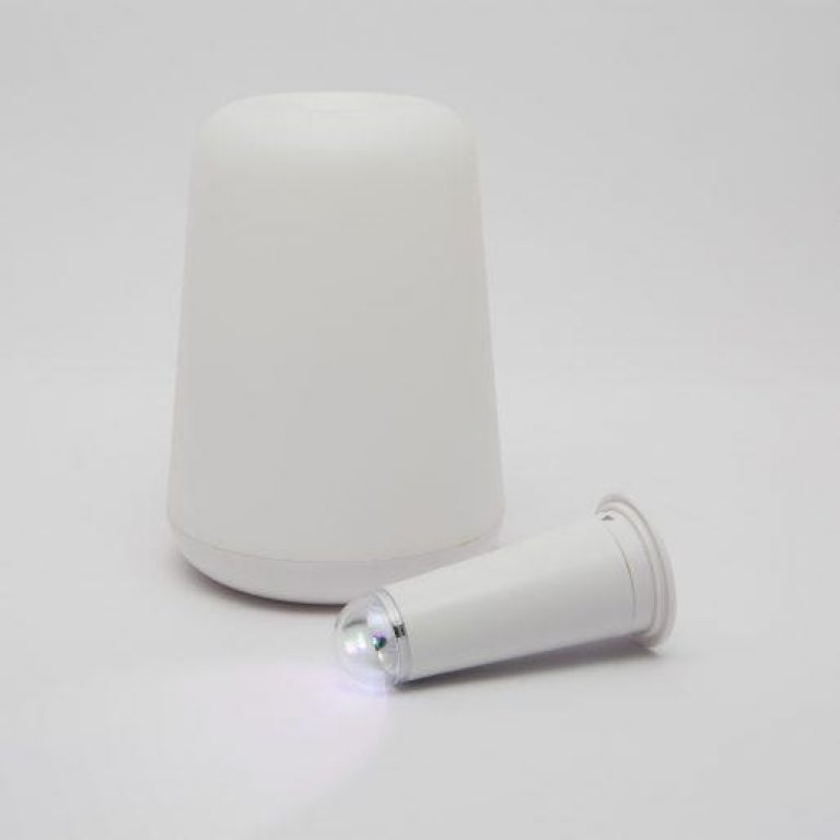 2 v 1 dekoracijska baterijska svetilka, ki spreminja barve + bela Essenzo
