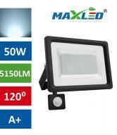 LED reflektor SMD 50W hladno beli s senzorjem