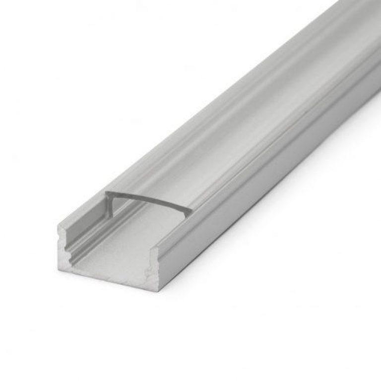 ALU LED profil nadgradni mat