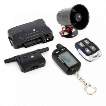 Avto alarm z daljinskim upravljanikom z LCD zaslonom