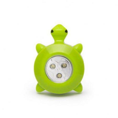 LED otroška svetilka v obliki želve
