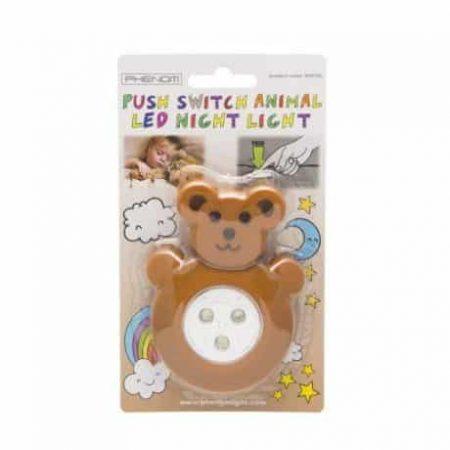 LED otroška svetilka v obliki medvedka