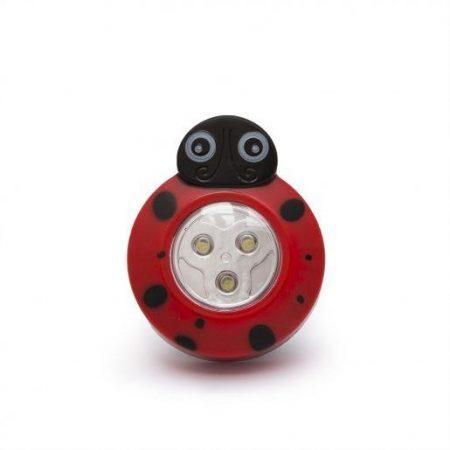 LED otroška svetilka v obliki pikapolonice