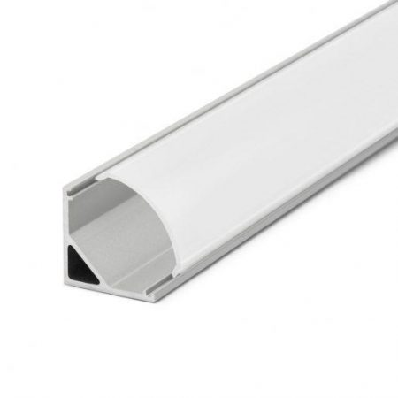LED profil kotni 41012 16 x 16 mm 1m mat