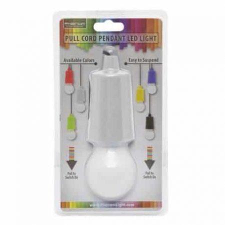 LED retro viseča baterijska svetilka več barv