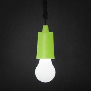 LED retro viseča baterijska svetilka zelena