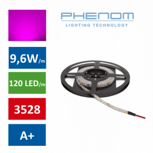 LED trak 5m 9,6W/m roza