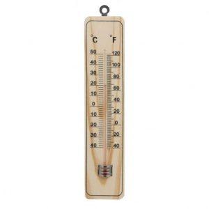 Leseni termometer