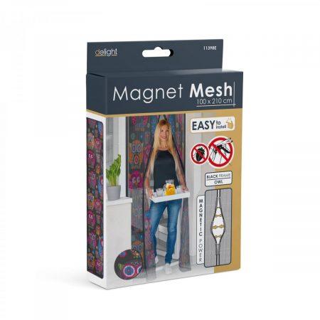 Magnetna zavesa proti komarjem za vrata 100 x 210 cm sovice